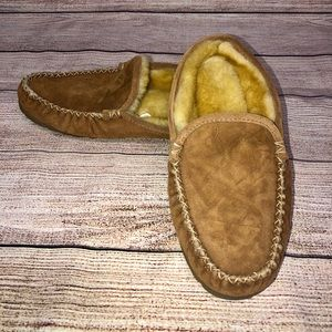 LL Bean Moccasins Slippers